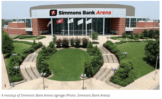 simmons first arena