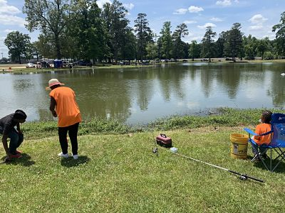 Community Fishing Day Event was an success