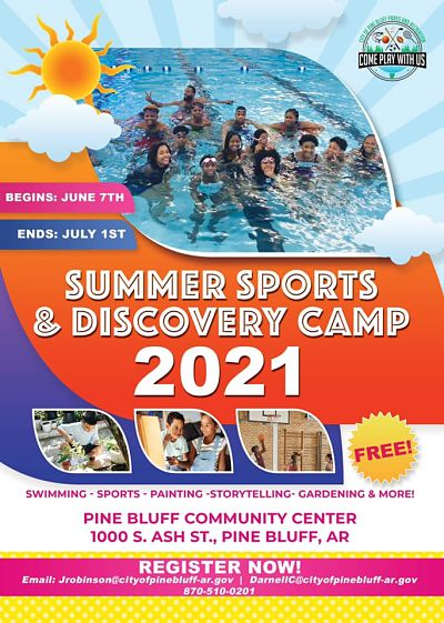 Pine Bluff Parks and Recreations to host free summer camp