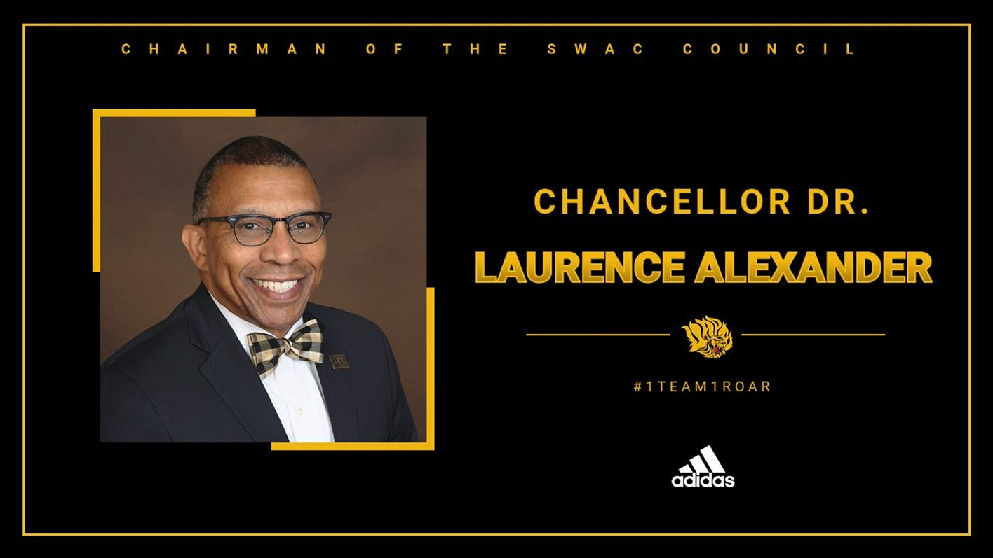 UAPB Chancellor Dr. Laurence Alexander Named Chairman of the SWAC Council of Presidents and Chancellors