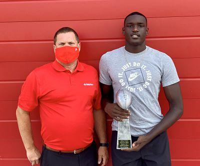 Bulldogs Jackson named Bonnette State Farm Player of the Week