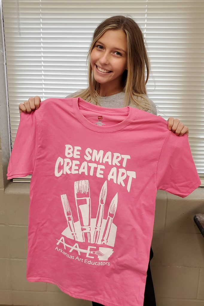 Star City teen wins Arkansas Art Educators Presidents Foundation t-shirt design contest